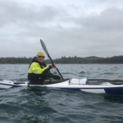 David Nicols with Blue Dog Kayaking
