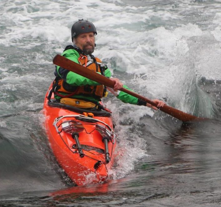 Keven Searle with Blue Dog Kayaking
