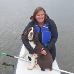 Caoimhe Connor with Blue Dog Kayaking