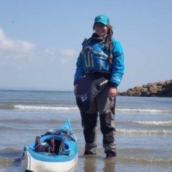 Alana Morrision with Blue Dog Kayaking