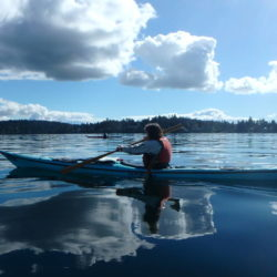 Gulf Islands Day Paddle with Blue Dog Kayaking